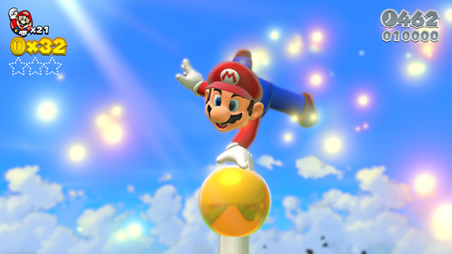 The Wii-U may be down in the dumps, but Mario is still on top of the world